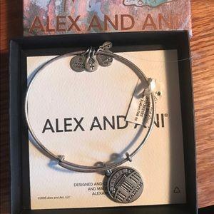 Alex and Ani Yankees Bracelet